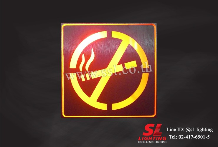 SL-10-7601-LED-NO SMOKING