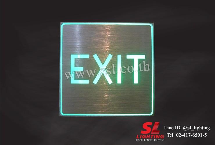 SL-10-7606-LED-EXIT