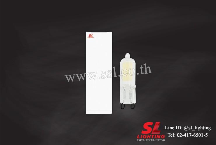 SL-9-LED-G9/2W/3000K/ฝ้า